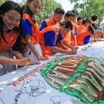 Acara Hutan Sekolah Kompas MuDa di SMAN 110