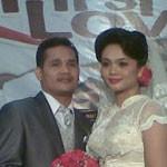 Lepas Masa Lajang, Bapak Antonius Saragih (Guru Agama Kristen) dan Ibu Rahayu (Guru B.Indonesia)