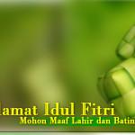 Selamat Hari Raya Idul Fitri 1434 Hijriyah