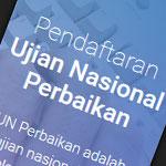 Pendaftaran Ujian Nasional Perbaikan